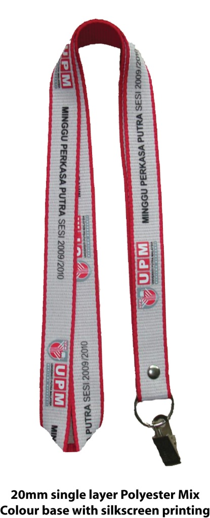 20mm Mix Colour Base Lanyard with Printing