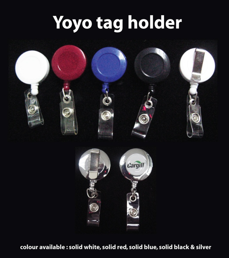 Yoyo Tag Holder